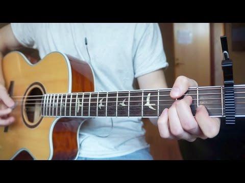 R.City - Locked Away - Guitar Cover | Mattias Krantz