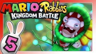 Luigi in Gefahr! Angriff der Pirabbid-Pflanze! 🐰 MARIO + RABBIDS KINGDOM BATTLE Part 5