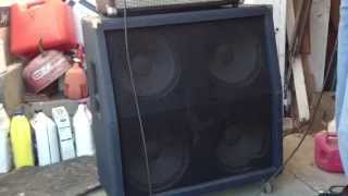 Crate Blue Voodoo 4x12 Slant Cab Demo model BV-412S
