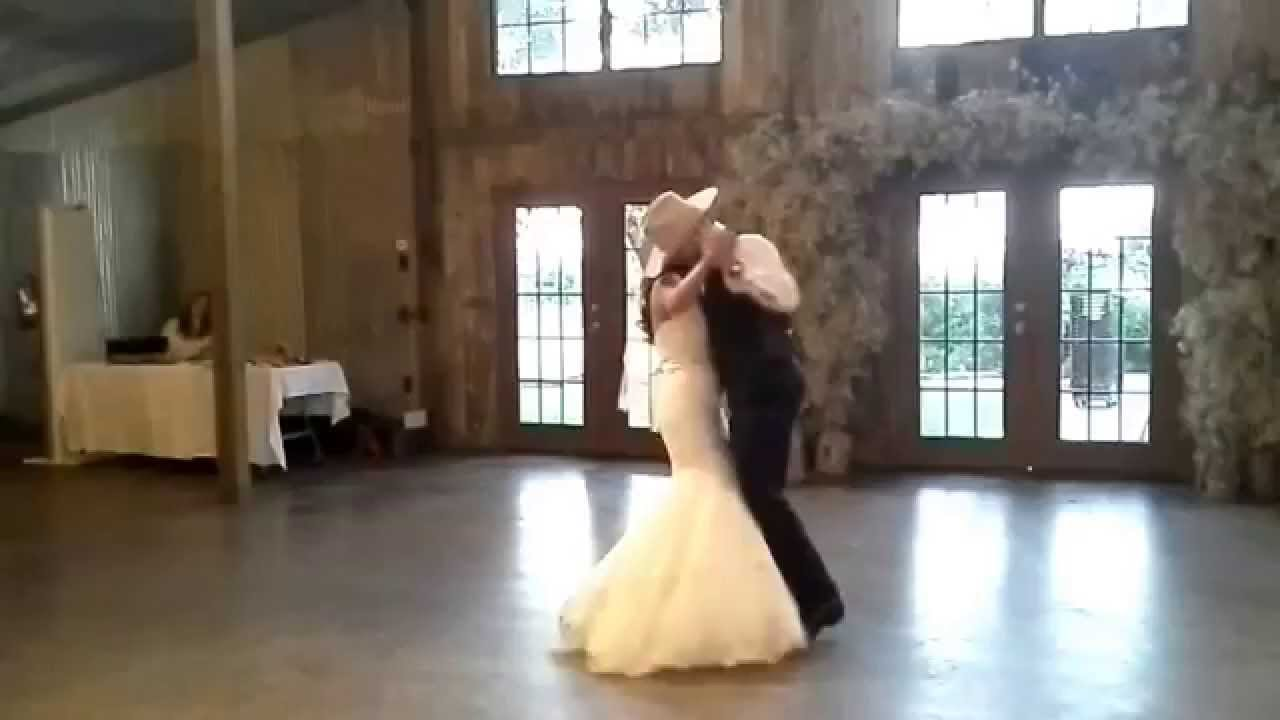 Beautiful Country Couple First Dance
