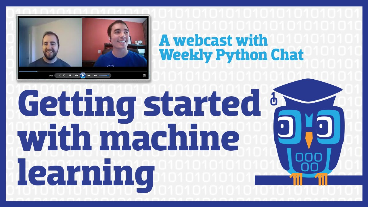 Getting started with machine learning in Python (webcast)
