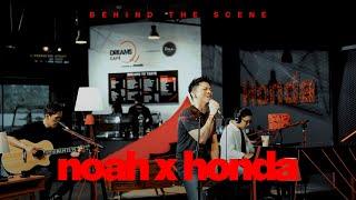NOAH - Dibalik Layar Launching Dreams Cafe by Honda