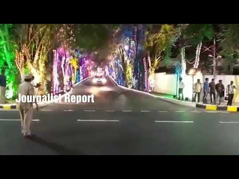 Ivanka Trump Convey in Falaknuma Palace, Hyderabad