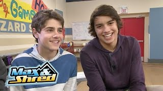 Max & Shred - Season Two Set Visit With Jake and Jonny