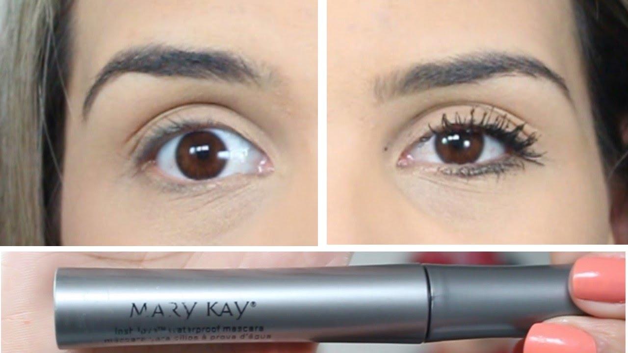 Nova Mascara de Cílios Mary Kay | A prova d'água + dicas