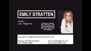 EMILY STRATTEN - US ACTING REEL