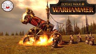 Hellcannon Sniping - Total War Warhammer