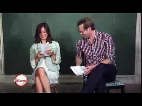 ET Canada Intervierw With Eric Johnson And Kristen Kreuk