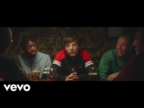 Смотреть клип Louis Tomlinson - Don't Let It Break Your Heart