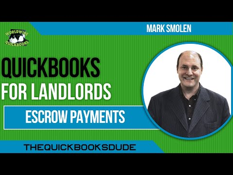 QuickBooks Mortgage Payments With Escrow