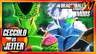 dragon ball xenoverse pc ceccolo cell piccolo vs jeiter jeice burter mod gameplay