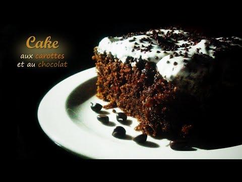 cake aux carottes et au chocolat, facile et délicieux ! - youtube