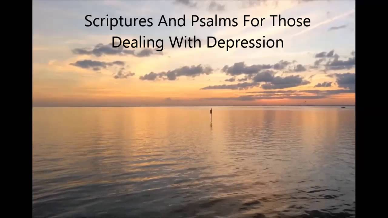 Audio Bible Meditations: Scriptures Dealing With Depression