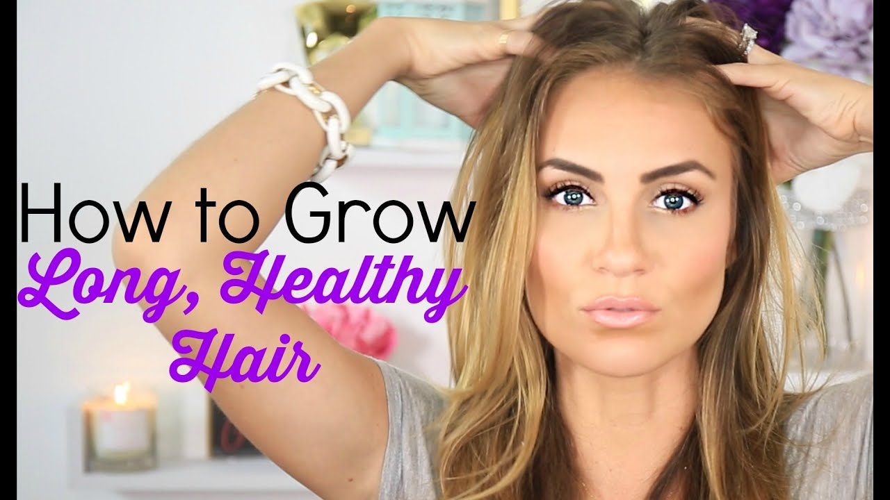How To Grow Long Healthy Hair Fast Tips Tricks Beauty Hack Youtube