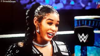 Bianca Belair makes a statement to Becky Lynch ahead of WWE Extreme Rules Smackdown Sept 24 2021