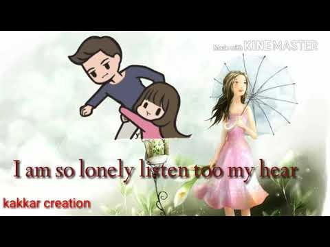 ( Broken heart ) I am so lonely broken an angel
