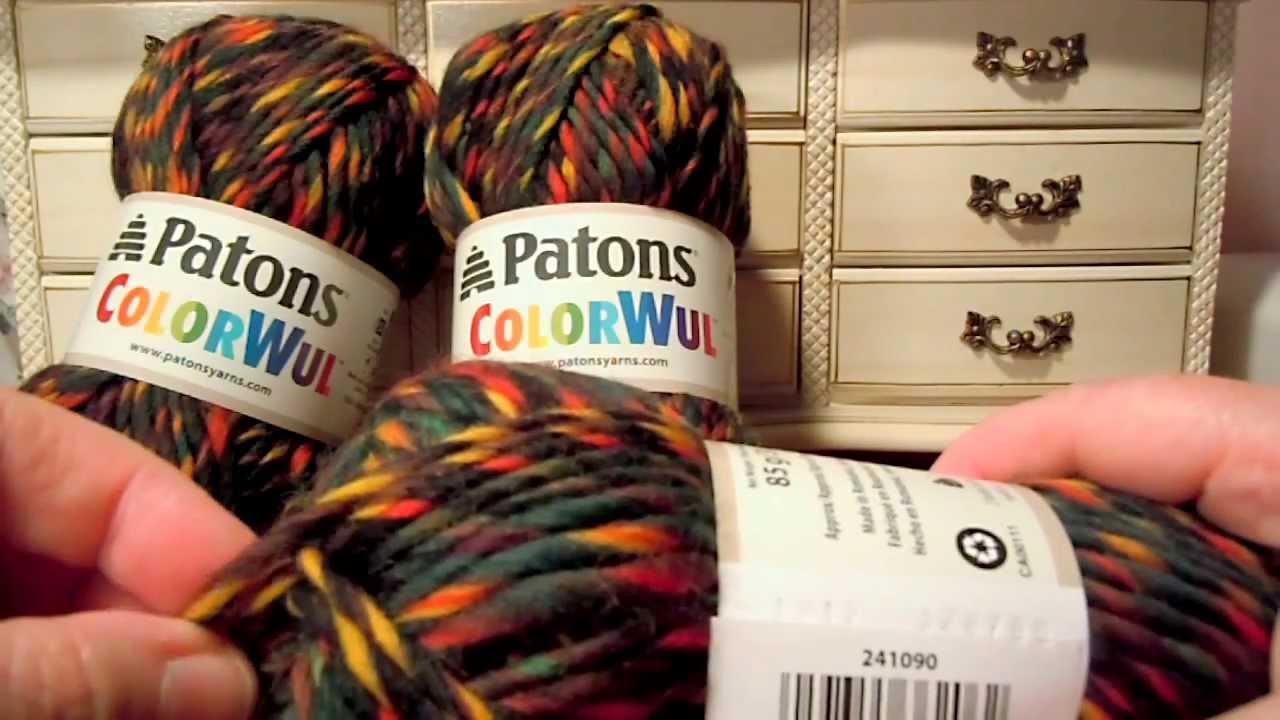 Patons colorwul free patterns