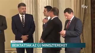 Beiktatták az új minisztereket – Erdélyi Magyar Televízió