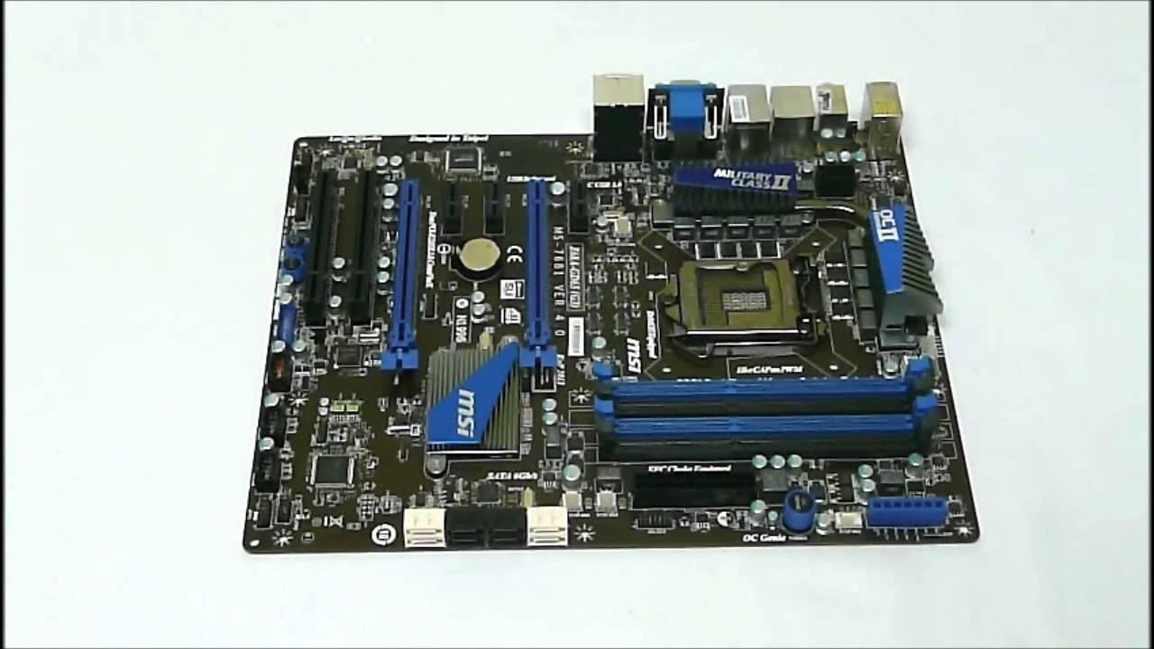 Download Driver: MSI Z68A-G45 (G3) Lucid Virtu