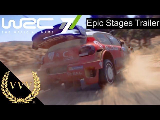 WRC 7 Gameplay Trailer - Epic Stages