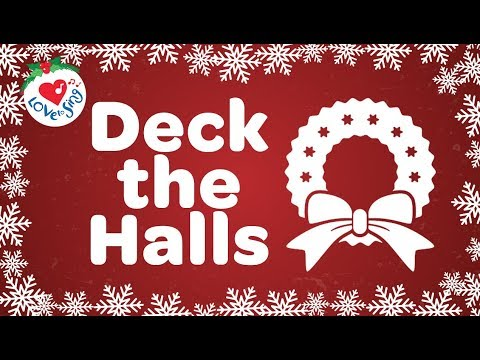 Deck The Halls Dengan Lirik 2018 | Lagu-lagu Natal Dan Lagu-lagu Natal