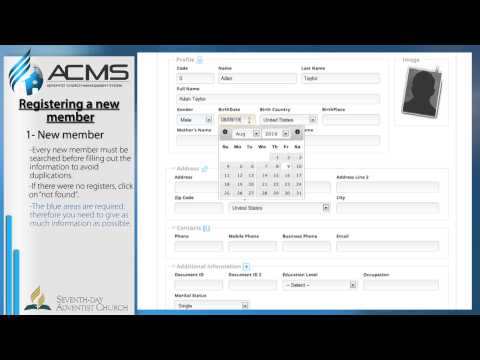 ACMS - Member - New