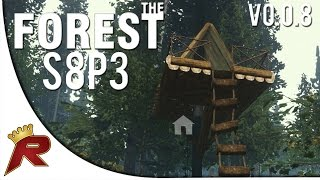 "The Forest Gameplay Survival - Part 3: ""alpine Treehouse!"" (v0.08)"