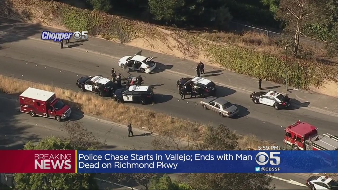 Police Chase Ends In Fatal Shooting In Richmond