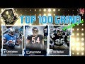 Completing Brian Urlacher! Weekend League Grind for Top 100 - Madden NFL 18 Gameplay