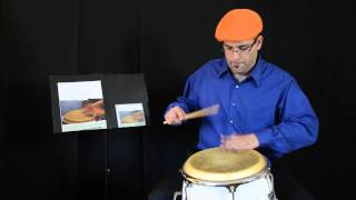 AFRO-CUBAN PERCUSSION TUTORIAL #1 by Javier Diaz: BEMBE CAJA