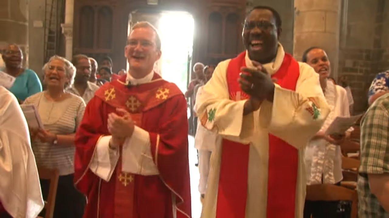 Première messe pour ce prêtre