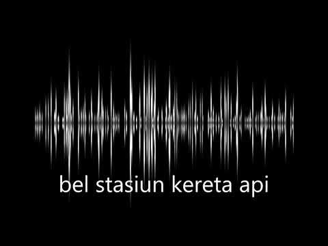 sound effect bel stasiun - train station bell sound effect