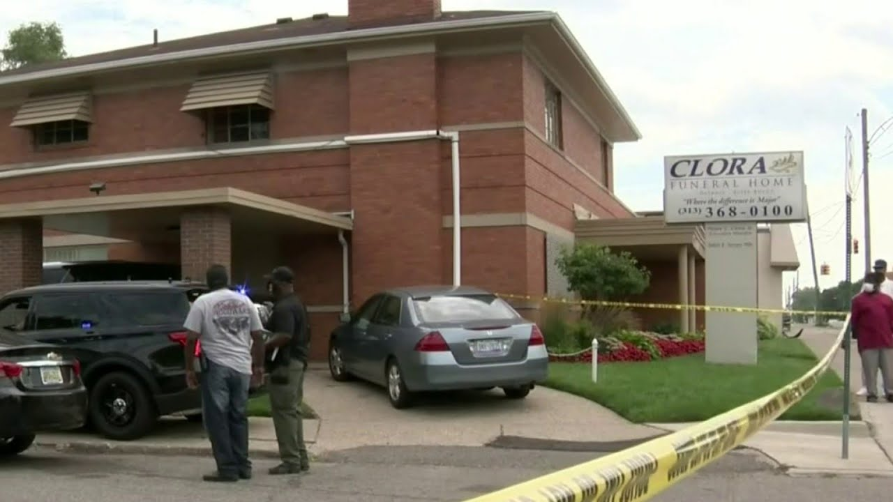 Deadly shooting at Detroit funeral home shocks community