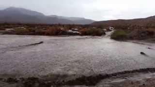 Flash flood in the desert. Borrego Springs 8/3/14
