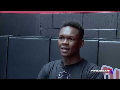 UFC Auckland. Israel Adesanya. Secret signals to Dan Hooker. It's beautiful man