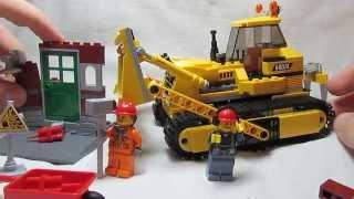 Обзор Lego 60074 Бульдозер.///LEGO 60074 'Bulldozer' review!