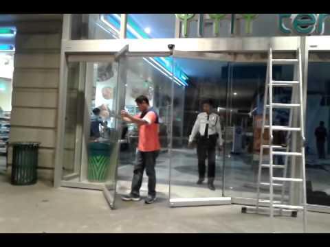 Stanley Automatic Door Youtube