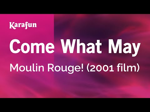 Karaoke Come What May - Moulin Rouge! *