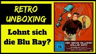 Der Sechs Millionen Dollar Mann Blu Ray Unboxing | Die komplette Serie in HD | Turbine Media