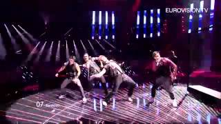 Eric Saade   Popular Sweden   Live   2011 Eurovision Song Contest Final