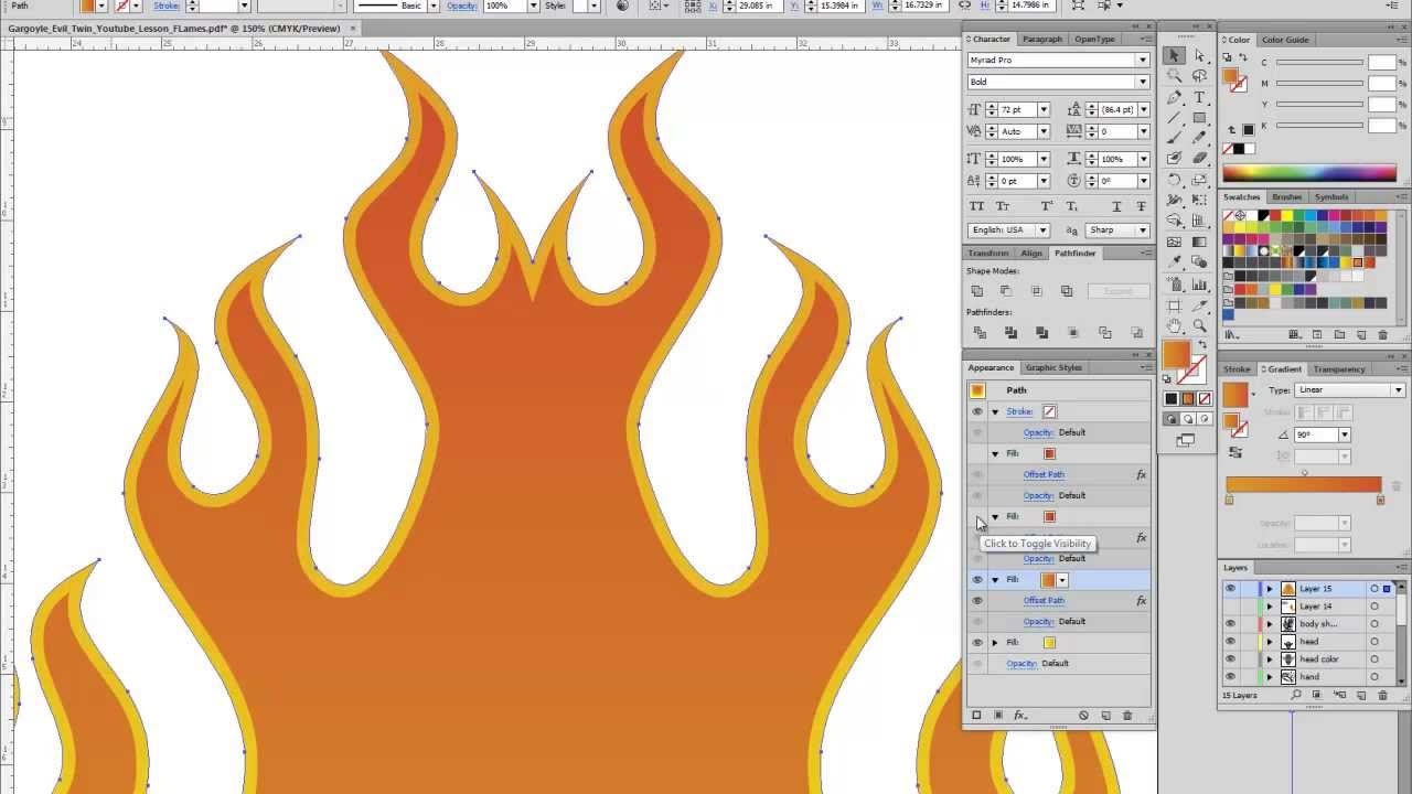 How to make a flame