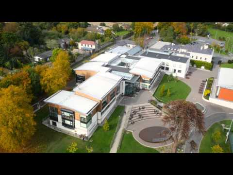 St. Gerard's School from the Sky!