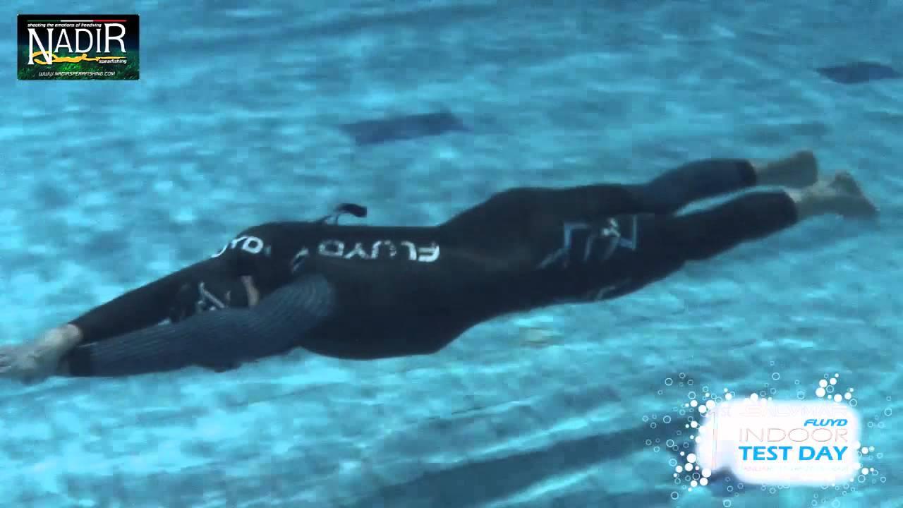 1st salvimar fluyd indoor test day youtube - Dive blu bari ...