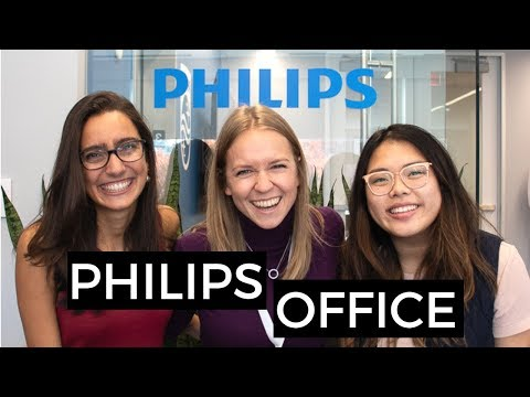Philips Office And The Cool Projects They're Working On!   Blonde Vlogs