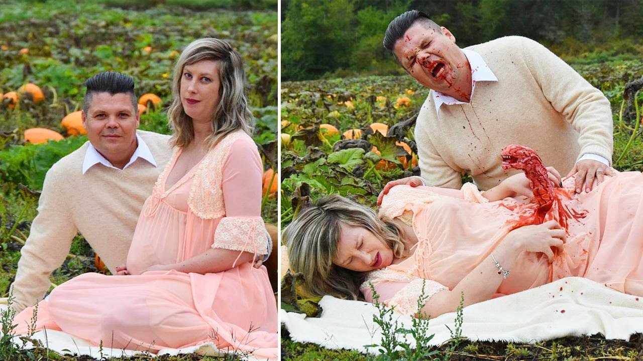 canadian-couple-stages-grisly-and-hilarious-alien-themed-maternity-shoot