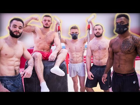 WE TOOK ON THE GYMNASTICS CHALLENGE!