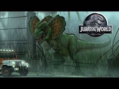 Jurassic World 2 Dilophosaurus Rex Hybrid Discussion