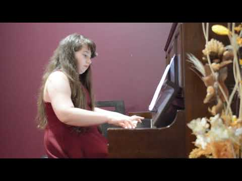 SUMAYA ABOU FADEL PIANO PERFORMANCE (ETUDE NO 9 OP 10 FOR  FREDERIC CHOPIN)