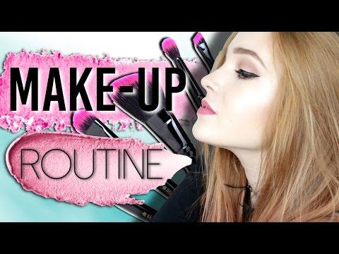 MAKE-UP ROUTINE │detailný tutorial
