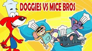 Rat-A-Tat |'Cooking Cartoons for Kids Kitchen Toys Doggy + Mice'| Chotoonz Kids Funny Cartoon Videos